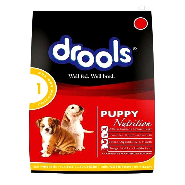 Drools puppy chicken & egg 1.2kg