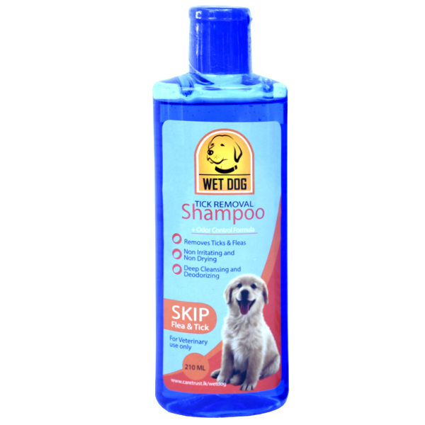 Wet dog  skip flea & tick 210ml