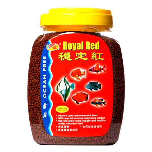 Fish food royal red 600g