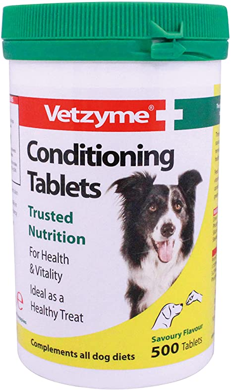 Vetzyme conditioning tab 500s