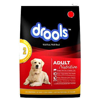 Drools adult chicken & egg 400g